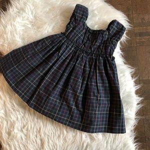 Ralph Lauren Girls 12 Month Sleeveless Plaid Dress